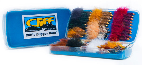 Bugger Barn Fly Box - The TroutFitter Fly Shop