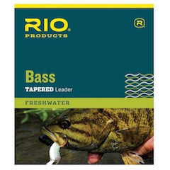 Rio Bass Tapered Leader - The TroutFitter Fly Shop - Syracuse, New York