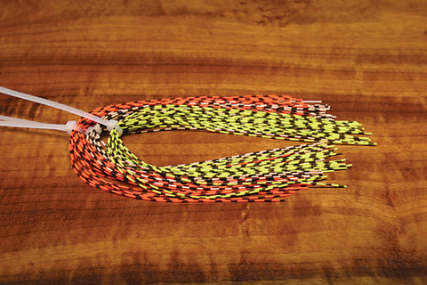 Hareline - Grizzly Barred Rubber Legs Medium - The TroutFitter Fly Shop - Syracuse, New York
