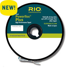 Rio Powerflex Plus Tippet - The TroutFitter Fly Shop - Syracuse, New York