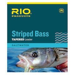 Rio - Striped Bass Tapered Leader - The TroutFitter Fly Shop - Syracuse, New York