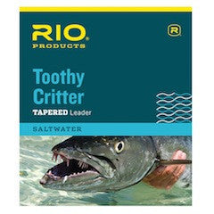 RIO - Toothy Critter Leader - The TroutFitter Fly Shop - Syracuse, New York