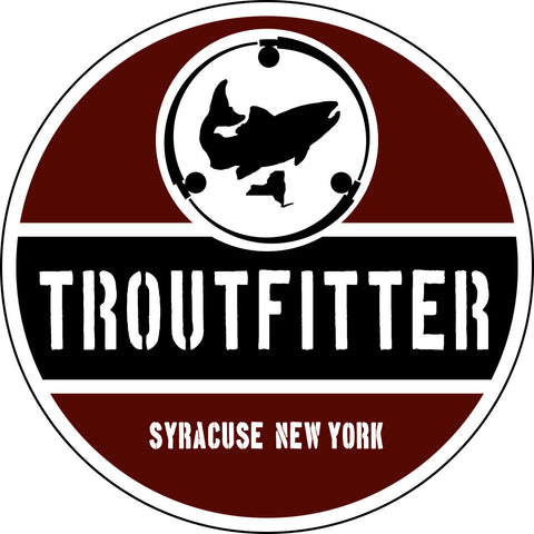 "TroutFitter 5"" Decal - The TroutFitter Fly Shop - Syracuse, New York"