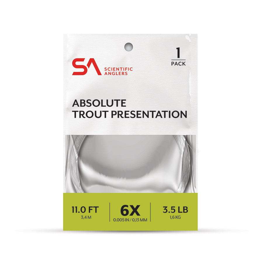 ABSOLUTE TROUT PRESENTATION 1-PACK