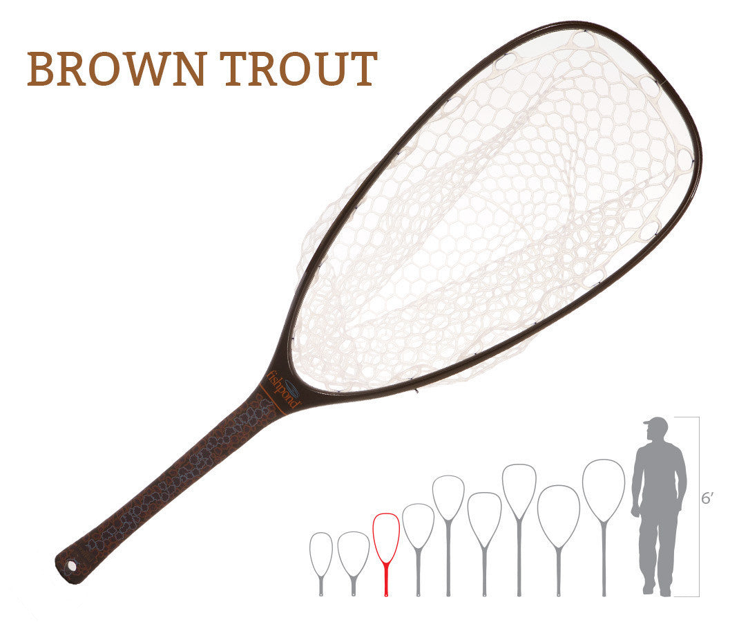 Fishpond NOMAD EMERGER NET Brown Trout - The TroutFitter Fly Shop - Syracuse, New York