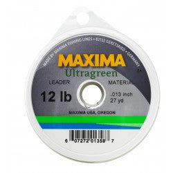 Maxima Ultragreen Leader Spool - The TroutFitter Fly Shop - Syracuse, New York