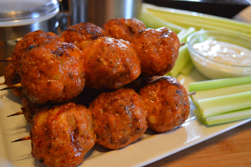 Croix Valley Buffalo Chicken Meatballs