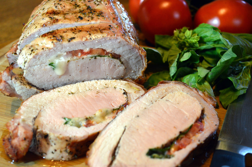 Croix Valley Caprese-Stuffed Pork Loin