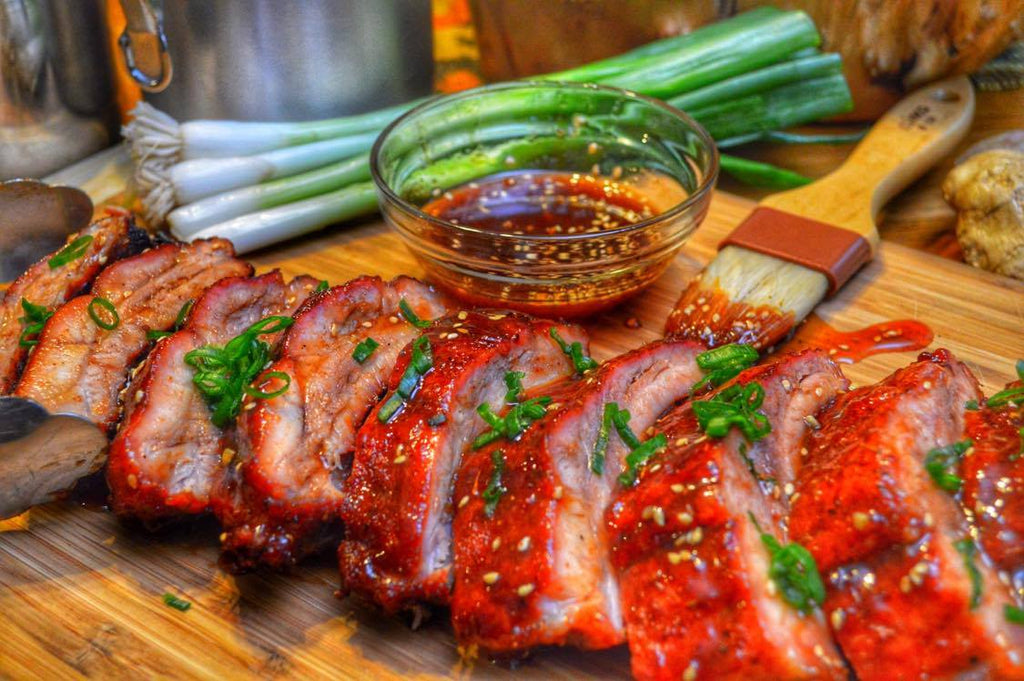 Garlic Ginger Baby Back Ribs