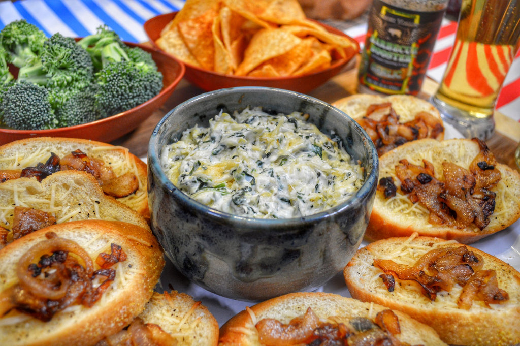 Smoked Spinach and Artichoke Dip