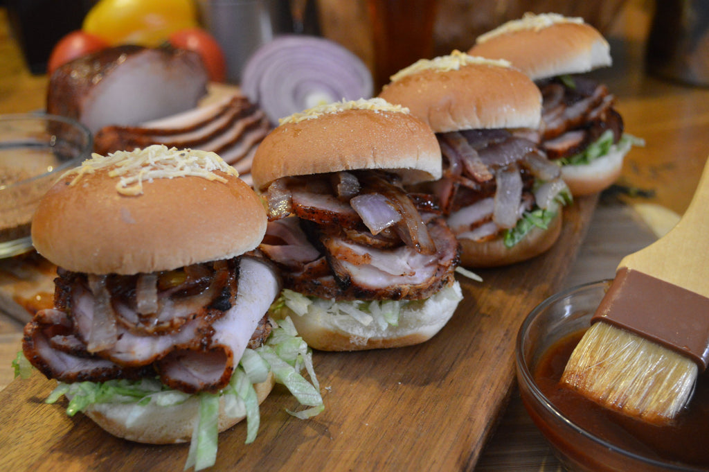 Spicy Pork Loin Sliders