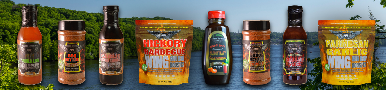 Croix Valley bbq rubs and sauces