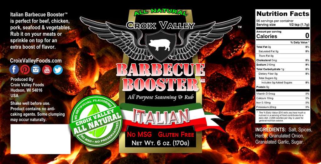 Croix Valley Italian Barbecue Booster