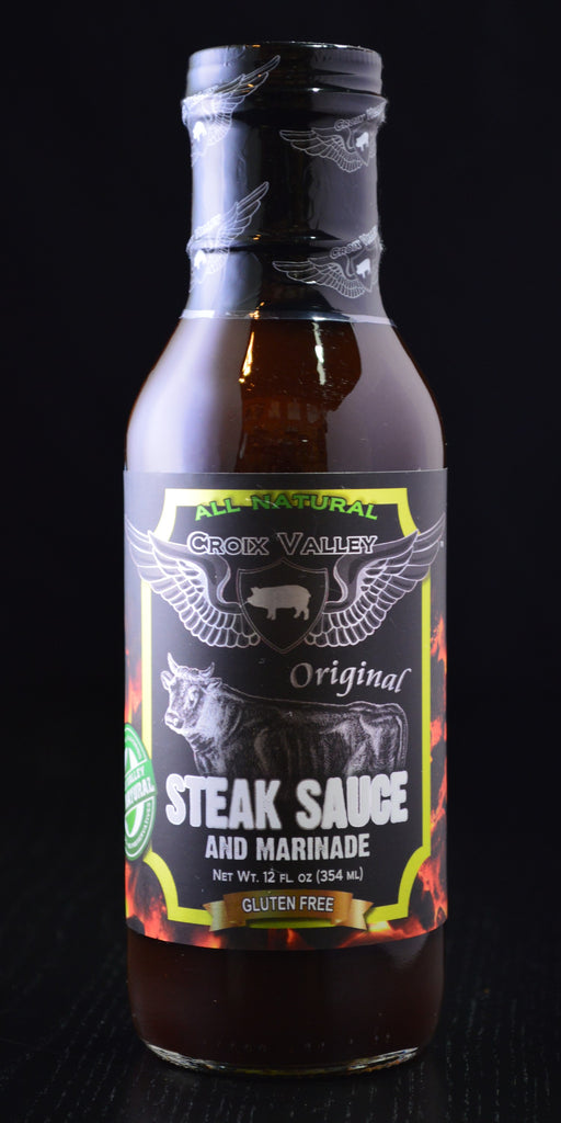 Croix Valley Original Steak Sauce and Marinade