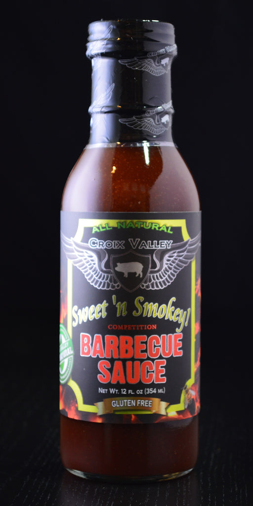 Croix Valley Sweet n Smokey Barbecue Sauce