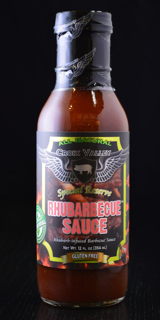 Croix Valley Rhubarbecue Sauce (Rhubarb BBQ Sauce)