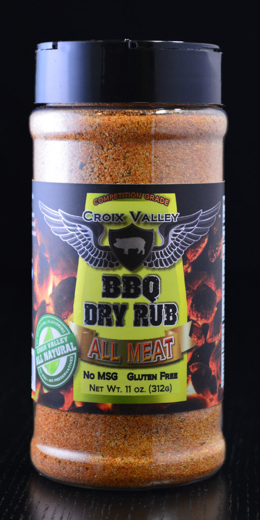 Croix Valley All Meat BBQ Dry Rub Bottle