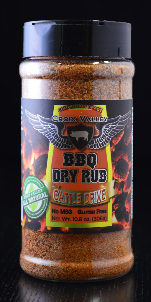 Croix Valley Cattle Drive BBQ Dry Rub Bottle