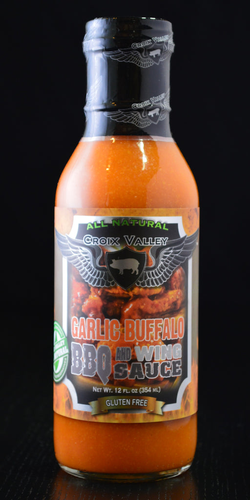 Croix Valley Garlic Buffalo BBQ & Wing Sauce