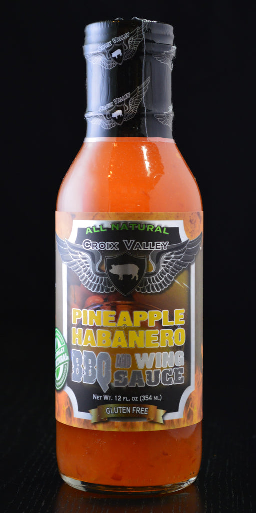 Croix Valley Pineapple Habanero BBQ & Wing Sauce