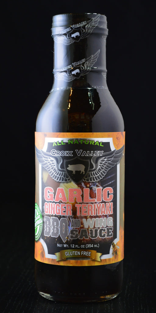 Croix Valley Garlic Ginger Teriyaki BBQ & Wing Sauce