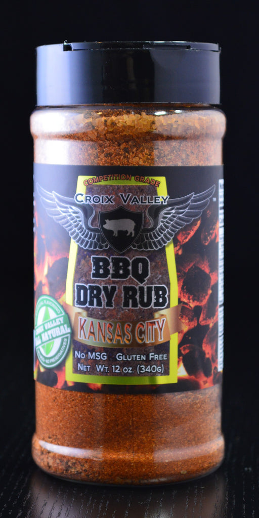Croix Valley Kansas City BBQ Dry Rub