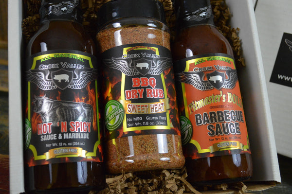 Croix Valley Spicy BBQ Gift Set