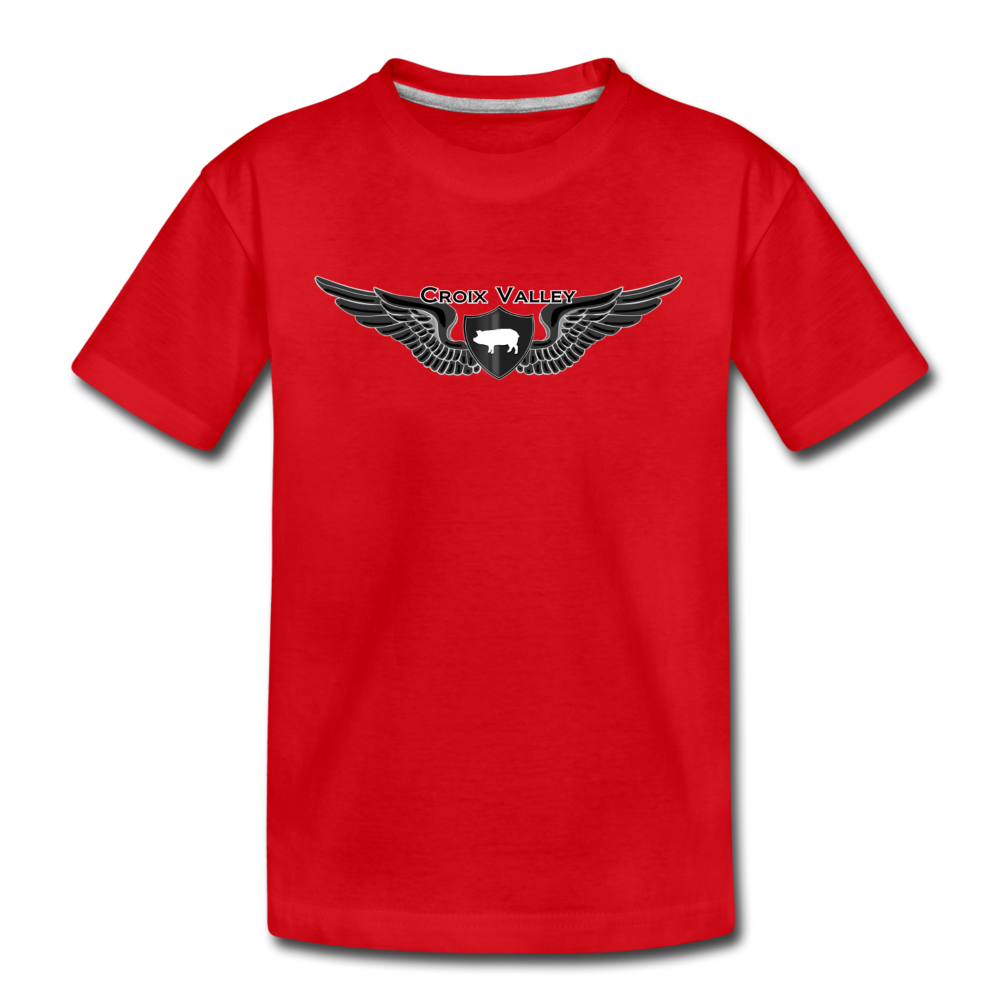 Tested on Animals Kids' Premium T-Shirt - red