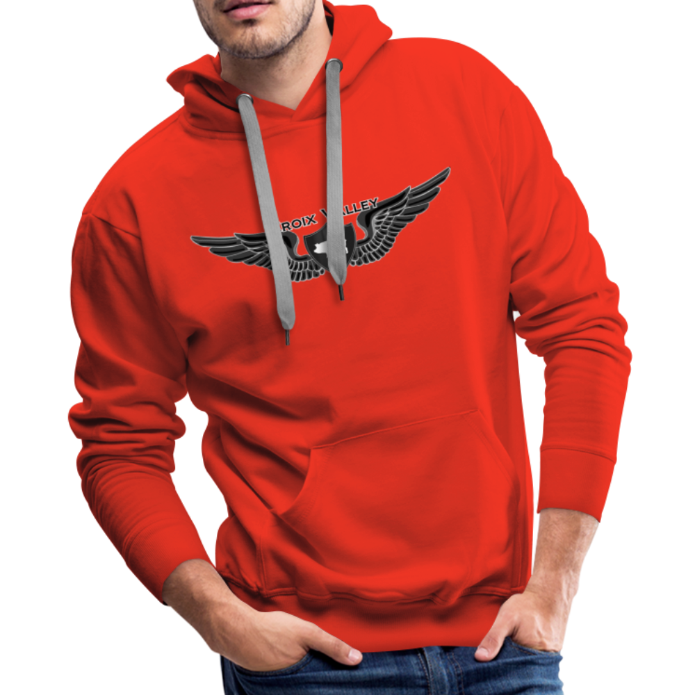 Citizen of the #CroixValleyNation Men's Premium Hoodie - red