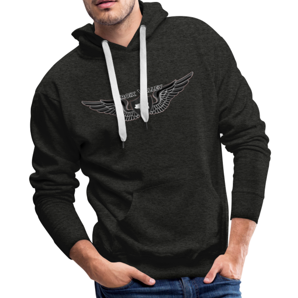 Citizen of the #CroixValleyNation Men's Premium Hoodie - charcoal gray