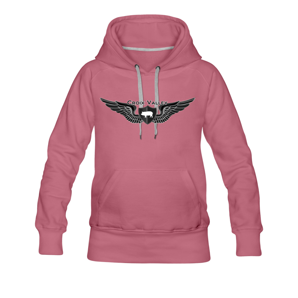 Citizen of the #CroixValleyNation Women's Premium Hoodie - mauve