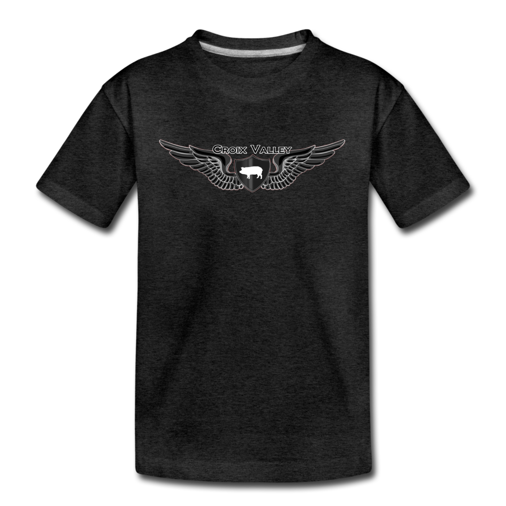 Citizen of the #CroixValleyNation Kids' Premium T-Shirt - charcoal gray
