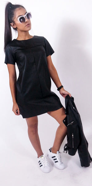 Night Cap Leather Dress