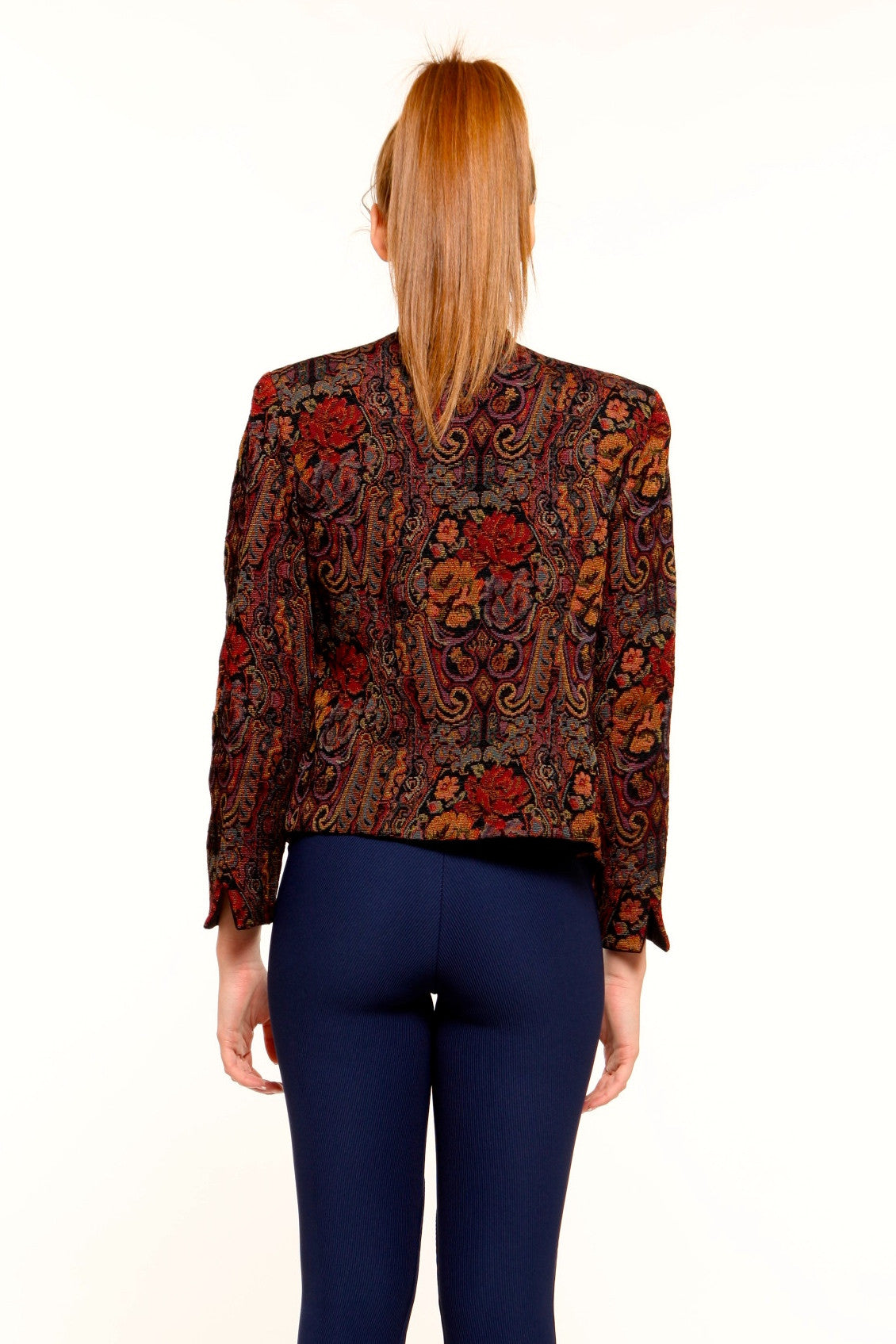 Embroidery Floral Blazer