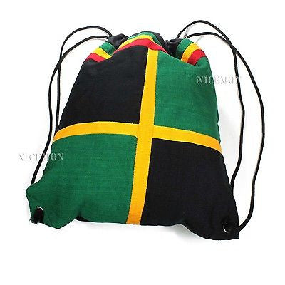 Jamaica Cool Runnings Ez Backpack Back Pack Reggae Marley Rasta Jamaica Vibe 17""