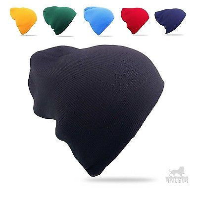 Beanie Tam Hat Cap Slouchy Rasta Tam Long or Short 100% Acrylic One Size FIT