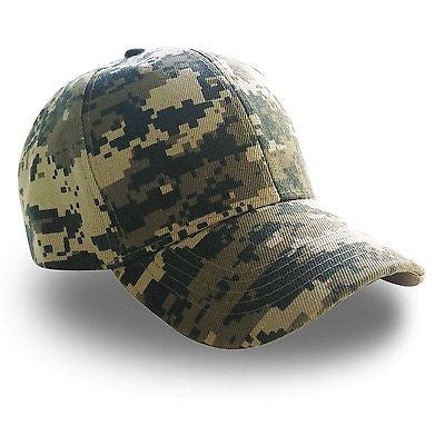 Army Digital Camouflage Military Camo Ball Baseball Caps Hats Adjustable 1sz Fit