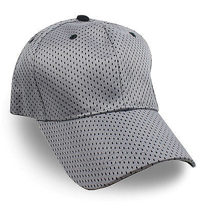 Gray Baseball Cap Ball Baseball Adjustable Cap Hat Golf Cap Golf Hats New 1sz