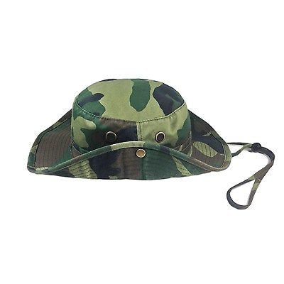 Army Hat Green Camouflage Cadet Jungle Cap Hat Army Marines Military 1sz Ft