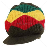 Rasta Reggae Dreadlocks Jamaica Marley Hat Cap Crown Rasta Hat Cool Runnings S/M