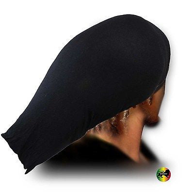 Jumbo Rasta Stocking Wave Hat Cap Reggae Marley Rastafari Dreadlocks FLEX XL/XXL
