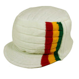 Roots Reggae Beanie Knit Cap Hat Kufi Rasta Surfer Hawaii Jamaica SMALL fit
