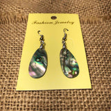 Abalone Shell Womens Empress Dangle Abtract Shell Earrings Earring LG