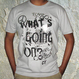 Love Whats Going On Rasta Irie T Shirt Cooyah Irie Marley 100% Cotton Jamaica Cy