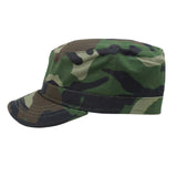 Castro Military Army Cadet Cap Hat Rasta Rastafari Urban 100% Cotton ARMY