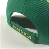 Jamaica Baseball Cap Hat Reggae Kingston Marley Usian Cool Runnings 1 SZ FIT