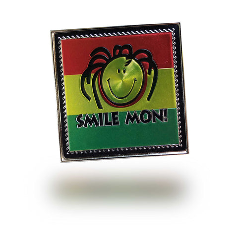 Magnetic Bottle Opener Irie Mon Dread Style Smiling Face One Love 3""