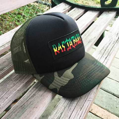 Lion Of Judah Truckers Mesh Rastafari Emblem Jamaica Hat Ball Cap Reggae Marley 1sz Fit