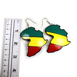 Rasta Rastafari Empress Irie Earring One Love Marley Reggae Jamaica Style New XL