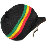 Jamaica Dreadlocks Rasta Hat Cap Marley Crown Reggae Selassie Roots Africa L/XL